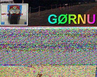 SSTV Image 01 Nov 16