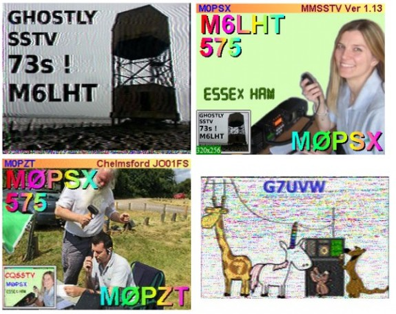 SSTV Activity for the 2m Activity Event, November 2015