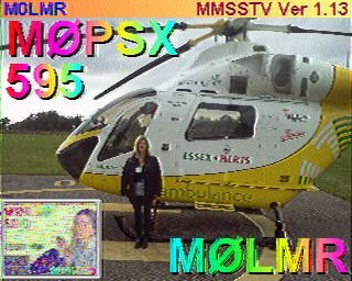 2m Activity Day - March 2016 - SSTV Image