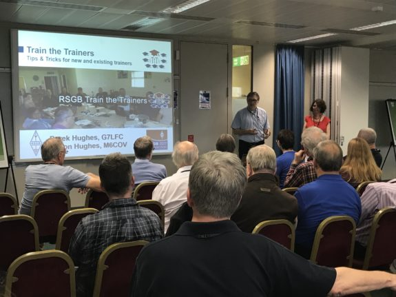 Train The Trainers talk at the RSGB Convention 2017