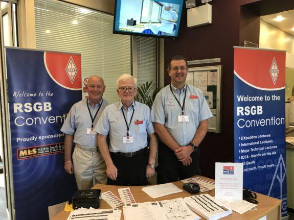 Region 12 team at the RSGB Convention 2017