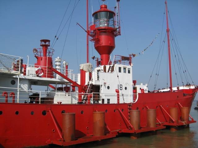 LV18 Light Vessel at Harwich