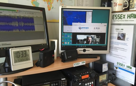 M0PSX shack, receiving the Devon contact 09 May 2016