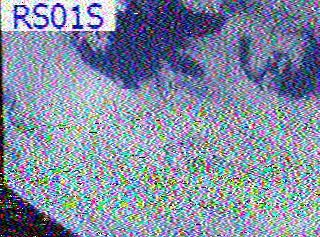 Image captured from the ARISSat Ham Radio Satellite