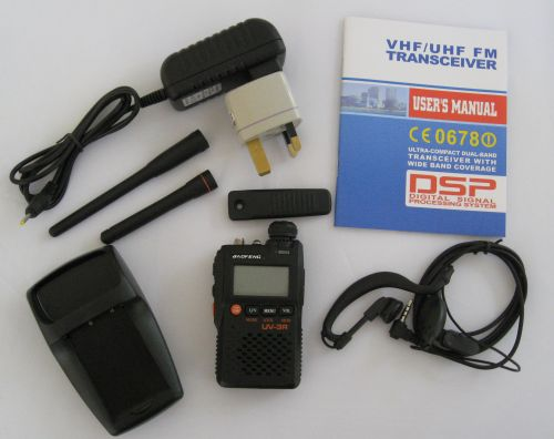 Baofeng UV-3R Box Contents