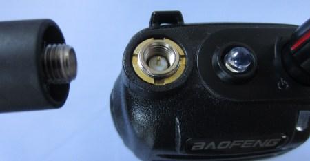 Baofeng UV-B6 SMA Antenna Connector