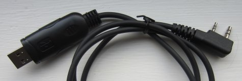 Baofeng UV-B6 USB Programming Lead