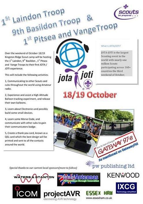 Basildon JOTA Leaflet