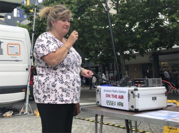 Dorothy M0LMR on-air from Basildon