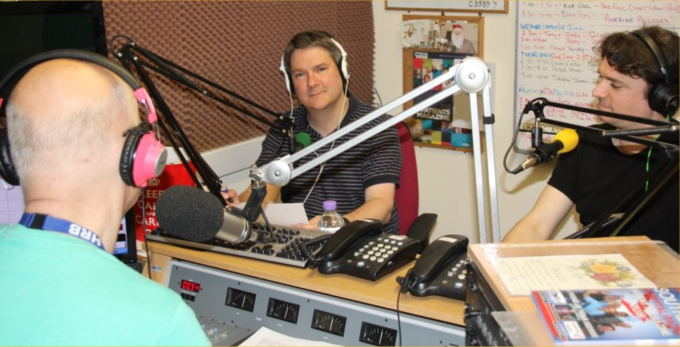 Essex Ham Radio Interview on FM and AM May 2016