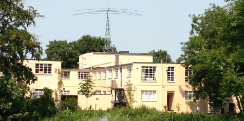The historic and iconic Bletchley Park