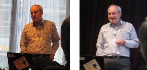 Bob Whelan, during his presentation