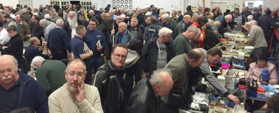 A busy Canvey Radio Rally 2016