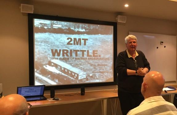Tim Wander talking 2MT Writtle
