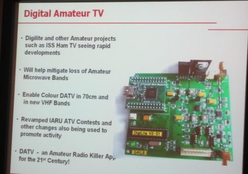 Amateur Radio Digital TV - The killer app for the 21st century ham?