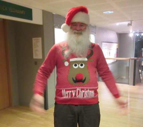 Peter G0DZB getting into the spirit of things!