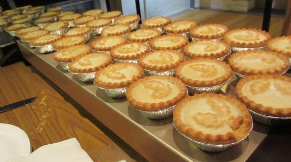 Hot mince pies, courtesy of John G8DET