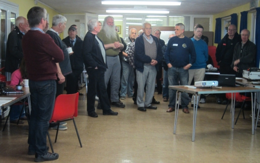 Some of the attendees for the CARS Skills Evening in April 2014
