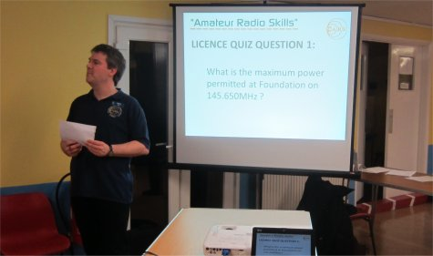 CARS Skills Night Quiz - Feb 2014