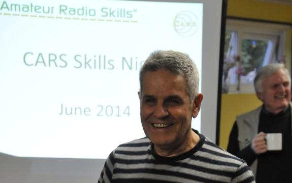 Clive G1EUC, presenting the June 2014 quiz