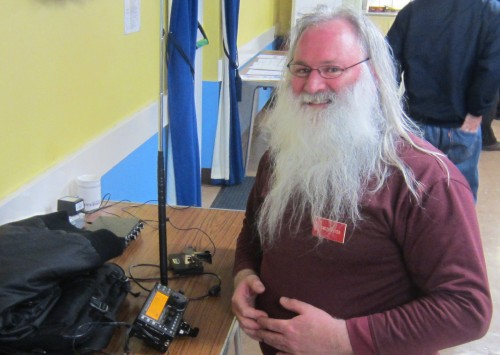 Peter G0DZB with his Elecraft KX3 on 40m