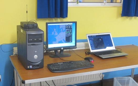 Nick M0NIB's lightning detection setup
