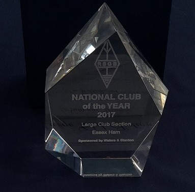 Club of the Year 2017 Trophy