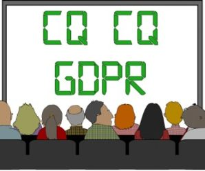 GDPR and Amateur Radio Clubs
