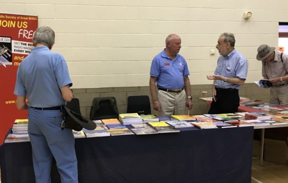 RSGB Book Stall at the 2018 CRG Rally