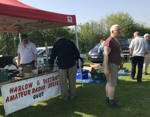 The Harlow & District table at the 2018 CRG Rally