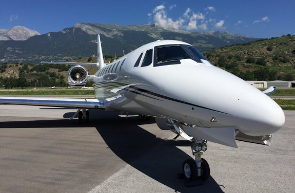 The 9-seater Cessna Citation Sovereign+
