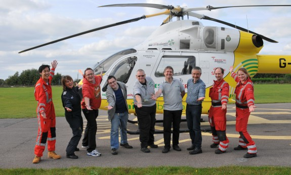 Essex Air Ambulance & Essex Ham - October 2014