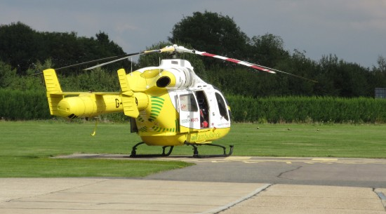 Essex Air Ambulance at Earls Colne Airfield