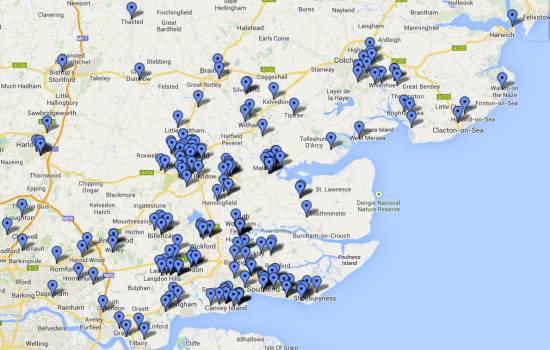 Essex Ham: Essex Amateur Coverage (Jan-Sep 2014)