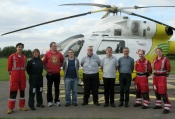 Essex Ham with Essex Air Ambulance