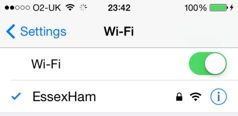 The Essex Ham Wi-fi Hotspot