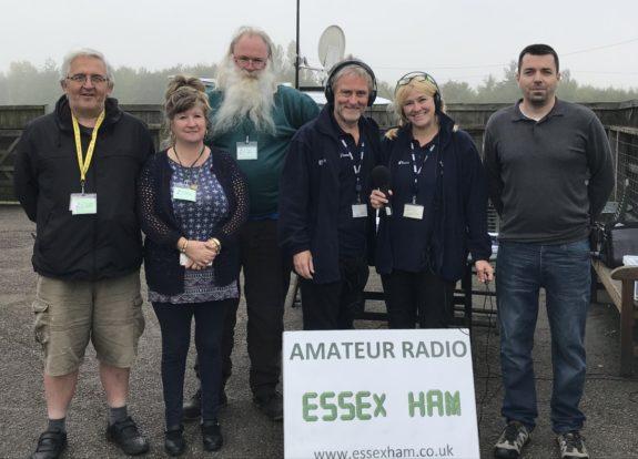 Essex Ham meets the BBC Essex Quest