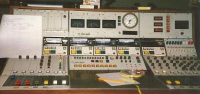 Essex Radio Studio Desk circa 1985