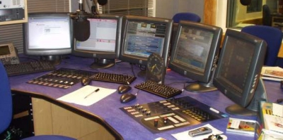 Essex FM Studio in Chelmsford 2005