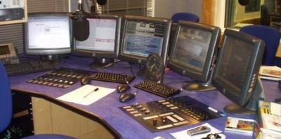 Essex FM Studio in Chelmsford 2005