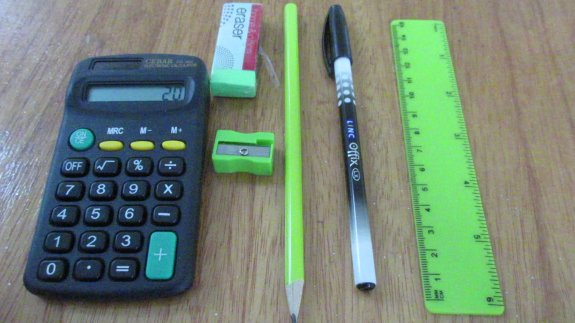 Items to bring to your Foundation Exam