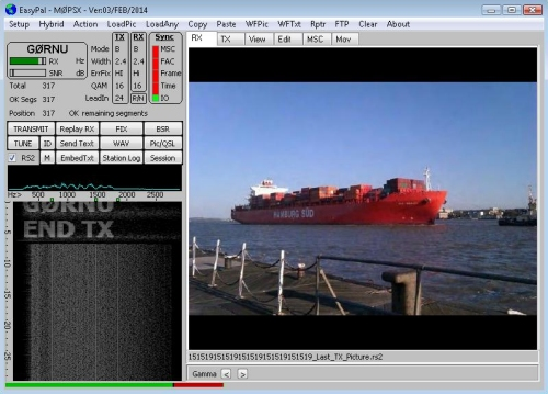Easypal image reviewed on 2m from G0RNU