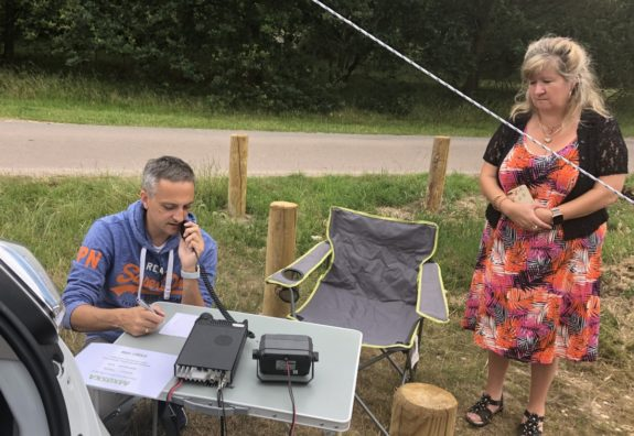 Andrew M0ONH on-air from Galleywood Common July 2019