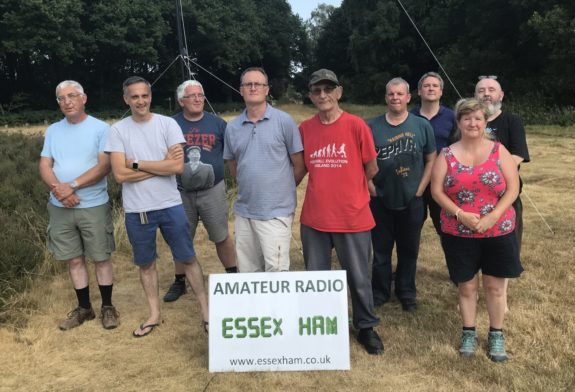 At Galleywood for the RSGB VHF NFD 08 July 2018