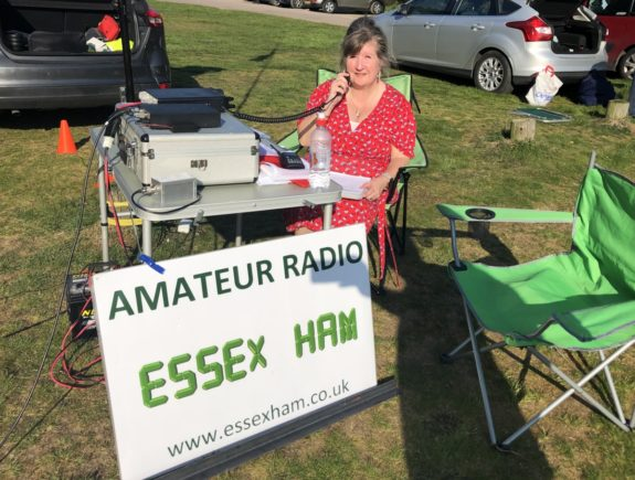 Dorothy M0LMR active on 2m from Galleywood Common