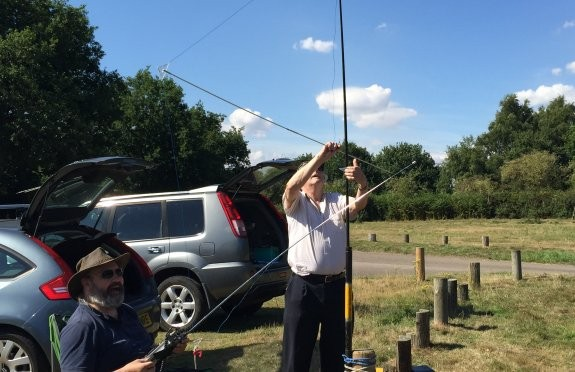 Antenna setup, at the Common