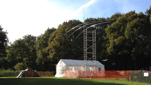 The Radio Tent, in Basildon