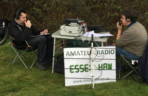 GB1STG on-air in 2016
