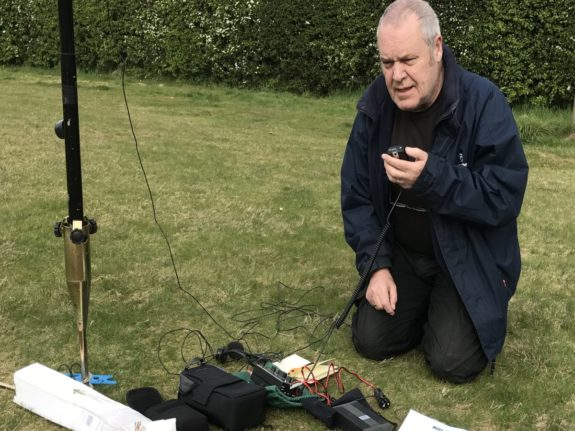 John G4LTH on 80m for GB1STG 2017