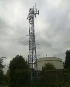 The Danbury Church Green site - home of GB3DA